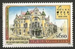 Austria - 1998 People's Opera, Vienna 6.50s MNH **          Sc 1767