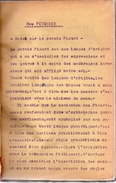 Tapuscrit En Picard.ECHOS DE PICARDIE Par ROGER CAGNON,né à HAM En 1897,SOMME (1914-1918).174 Pages.vers 1945-1950. - Manuscrits