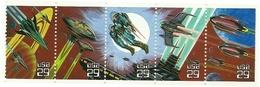 1993 - Stati Uniti 2132/36 Fantasia Spaziale