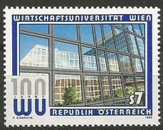 Austria - 1998 Vienna University 7s MNH **          Sc 1769 - 1945-.... 2nd Republic