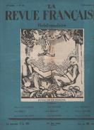 LA REVUE FRANCAISE 5 12 1926 - ELOGE DE LA PARESSE - JEANNE D'ARC BARRES - SALON D'AUTOMNE - COURTELINE - JOCONDE VOL - Giornali