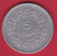 France 5 Francs Lavrillier Aluminium - 1952 - France