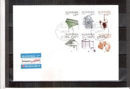 Enveloppe Slovénie - Patrimoine Culturel 1993 - Série Complète (à Voir) - Slovénie