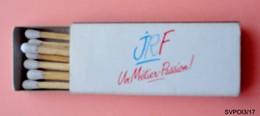 Boite D'allumettes JRF Un Métier Passion / Maxime  Restaurant Poitiers