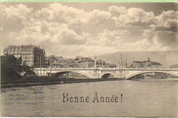 Genève:le Pont De La Coulouvrenière Construit En 1896 - GE Ginevra