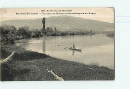 BRANGUES - Un Coin Du Rhône Et Les Montagnes Du Bugey - 2 Scans - Brangues