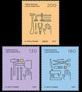 Liechtenstein 2017 - SEPAC 2017 - Trades And Crafts Stamp Set Mnh