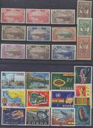 FRANCE Et AFRIQUE ! Timbres Anciens NEUFS De Martinique Et Du Ghana Depuis 1930 - Martinique (1886-1947)