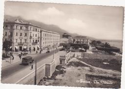 N 254 - FORMIA LATINA VIA VITRUVIO ANIMATA 1955 - Altre Città