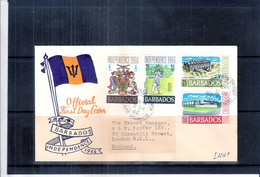 FDC Barbados - Independence 1966 - Complete Set (to See) - Barbades (1966-...)