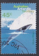 Australian Antarctic Territory  S 103 1995 Whales And Dolphins 45c Minke Whale Used