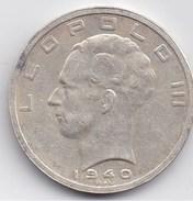 LEOPOLD III - 50 Fr 1940 Belgique Belgie - 1934-1945: Leopold III