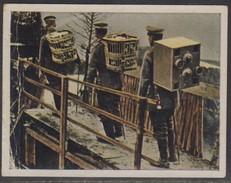 11305 Alemanha Figurinha 1ª Guerra Mundial Pombo-correio Vinham Em Maços De Cigarro - Armee