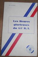 Les Heures Glorieuses Du 41 ème R.I - Books