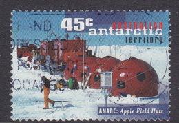 Australian Antarctic Territory  S 110 1997 50th Anniversary Of ANARE 45c Apple Field Huts Used - Australian Antarctic Territory (AAT)