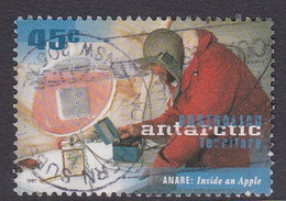 Australian Antarctic Territory  S 111 1997 50th Anniversary Of ANARE 45c Inside An Apple Used