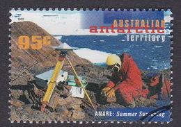 Australian Antarctic Territory  S 112 1997 50th Anniversary Of ANARE 95c Summer Surveying Used