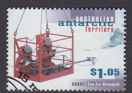 Australian Antarctic Territory  S 113 1997 50th Anniversary Of ANARE $ 1.05 Sea Ice Research Used