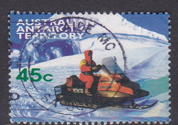 Australian Antarctic Territory  S 116 1998 Transports 45c Skidoo Used