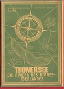 THUNERSEE, MAPPE MIT 5 KARTEN - BE Berne