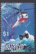 Australian Antarctic Territory  S 117 1998 Transports $ 1.00 Helicopter Used