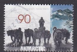 Australian Antarctic Territory  S 121 1999 Mawson's Huts 90c Huskie Team Used