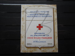 VEND CARNET CROIX ROUGE N° 2003 (1954) !!!! (b) - Red Cross