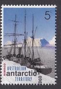 Australian Antarctic Territory  S 127  2001 Australians In The Antarctic 5c Discovery Nimrod Used