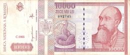 ROUMANIE   10,000 Lei   1994   P. 105a - Romania