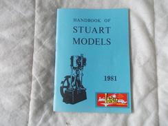 HANDBOOK Of Stuart Models 1981 - Livres, BD, Revues
