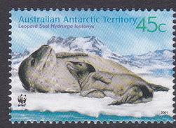 Australian Antarctic Territory  S 145  2001 Leopard Seals 45c Mother And Pup Used - Territoire Antarctique Australien (AAT)