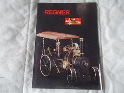 REGNER Mechanische Werstatten Dampfmodellbau - Hobbies & Collections