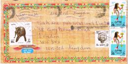 23727. Carta Aerea EL KABBARY (Alexandria) Egypt 1998. Pictorical Cover - Égypte