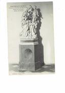 Cpa - 54 - Grand Séminaire De NANCY - ANCIENNE CHARTREUSE De Bosserville - Statue De SAINT-JOSEPH Adam Sculpteur - Saints