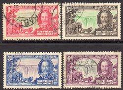 Southern Rhodesia 1935 Silver Jubilee Set Of 4, Used (SG 31-4) - Südrhodesien (...-1964)