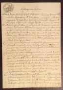 GOVERNO PONTIFICIO  RAVENNA 16/9/1828  MANOSCRITTO IN CARTA BOLLATA BAJ 10 DOPPIO FOGLIO ISTANZA EREDI AVV, GUIDO FABRI - Manoscritti