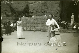 ROBIANNE Comédienne Théâtre En Plein Air 1933 - Famous People