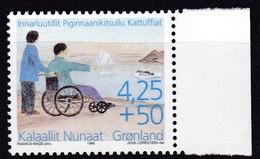 1996,  Grönland, 296 Y, Behinderte, MNH ** - Groenland