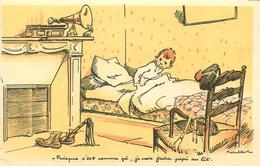 """ILLUSTRATEUR POULBOT  """" ZOZO MONTMARTRE """"  N°8   Puisque C'est Comme ça  ( PHONOGRAPHE) - Poulbot, F."""