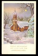 Frohe Weihnacht Und Alles Gute Zum Jahreswechsel / Postcard Circulated, 2 Scans - Non Classificati