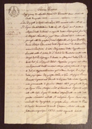 GOVERNO PONTIFICIO IMOLA 30/12/1817  MANOSCRITTO IN CARTA BOLLATA BAJ NOVE  CON FIRME AUTOGRAFE E TABELLIONATO - Manoscritti