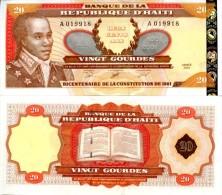 HAITI 20 Gourdes 2001 P- 271Aa(1)  **UNC** - Haiti