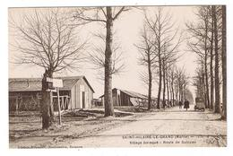 CP   De Saint -Hilaire- Le - Grand  (51)   1920 -  Village Baraqué - Route De Suippes - Other Municipalities