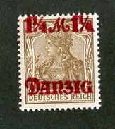 15630  Danzig 1920  Michel #27 II*  ( Cat 40.€ ) Offers Welcome - Danzig