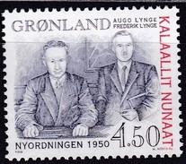 1998,  Grönland, 315, Die Dänisch-grönländische Neuordnung Von 1950  MNH **, - Neufs