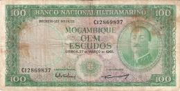 MOZAMBIQUE   100 Escudos   27/3/1961   P. 119a - Mozambique