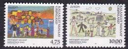 1998,  Grönland, 323/24, Europa: Nationale Feste Und Feiertage.  MNH **, - Groenland