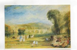 Postcard - Art - J.M.Turner - Richmond Hill & Bridge 1831 - Card No.pc1871 New - Postcards