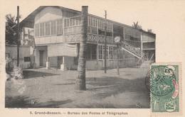 GRAND-BASSAM    Bureau Des Postes Et Télégraphes   PAS COURANT  1907 - Côte-d'Ivoire