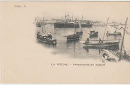 CETTE / SETE (34) - LA PECHE - PREPARATIFS DE DEPART - Sete (Cette)